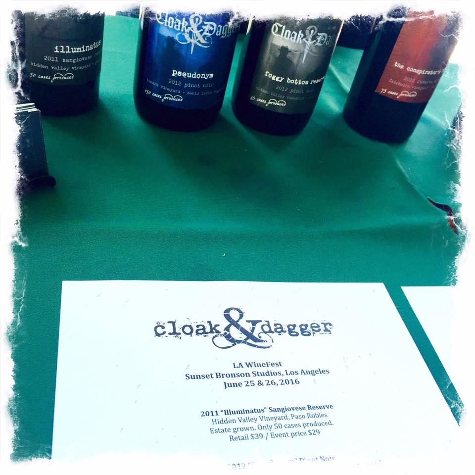 Cloak & Dagger Wines